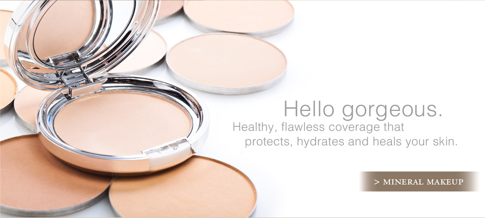 Hello Gorgeous. Healthy, flawless coverage that protects, hydrates and heals your skin.