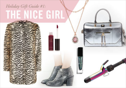 holiday gift guide for bold girl