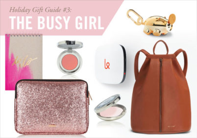 gift guide: busy girl