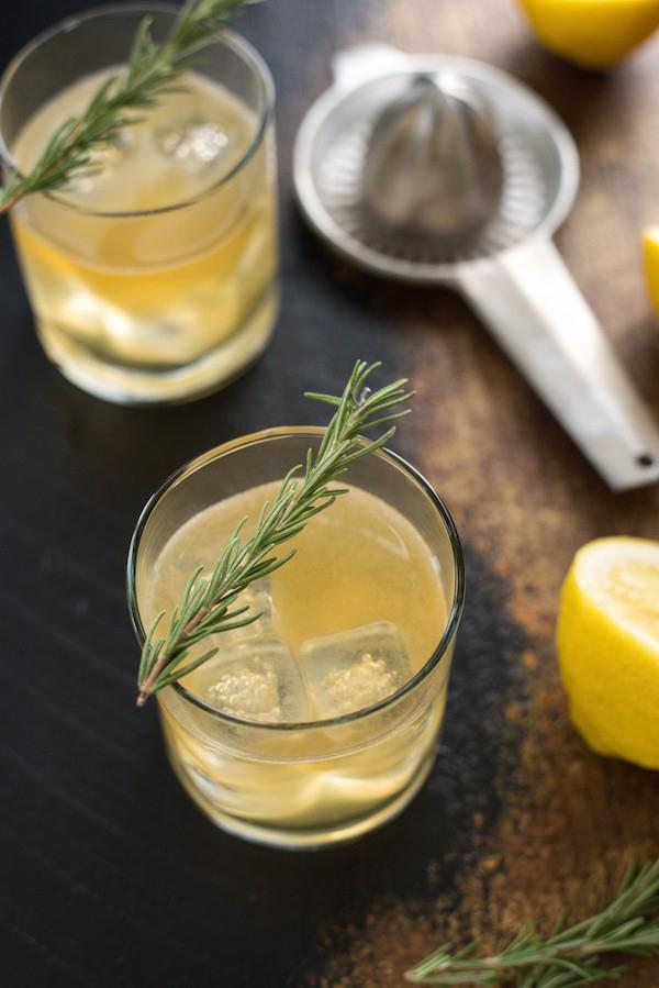 Lemon-Rosemary-Bourbon