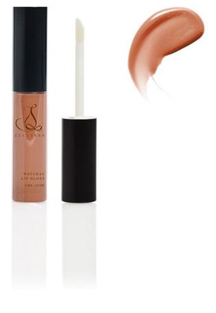 Amber Beige Natural Shimmer Moisture & Antioxidant-Rich Organic Lip Gloss