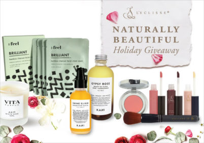 Naturally Beautiful Holiday Giveaway