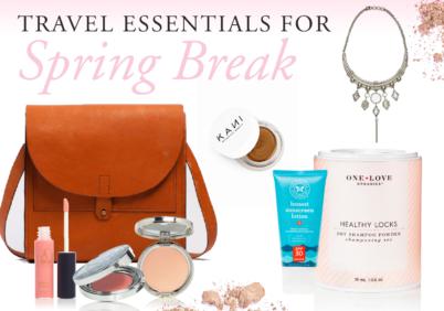 spring break travel essentials - packing for coachella